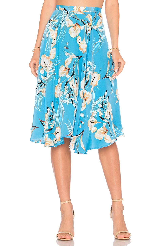 Yumi Kim Cassidi Skirt in Bay Breeze Blue