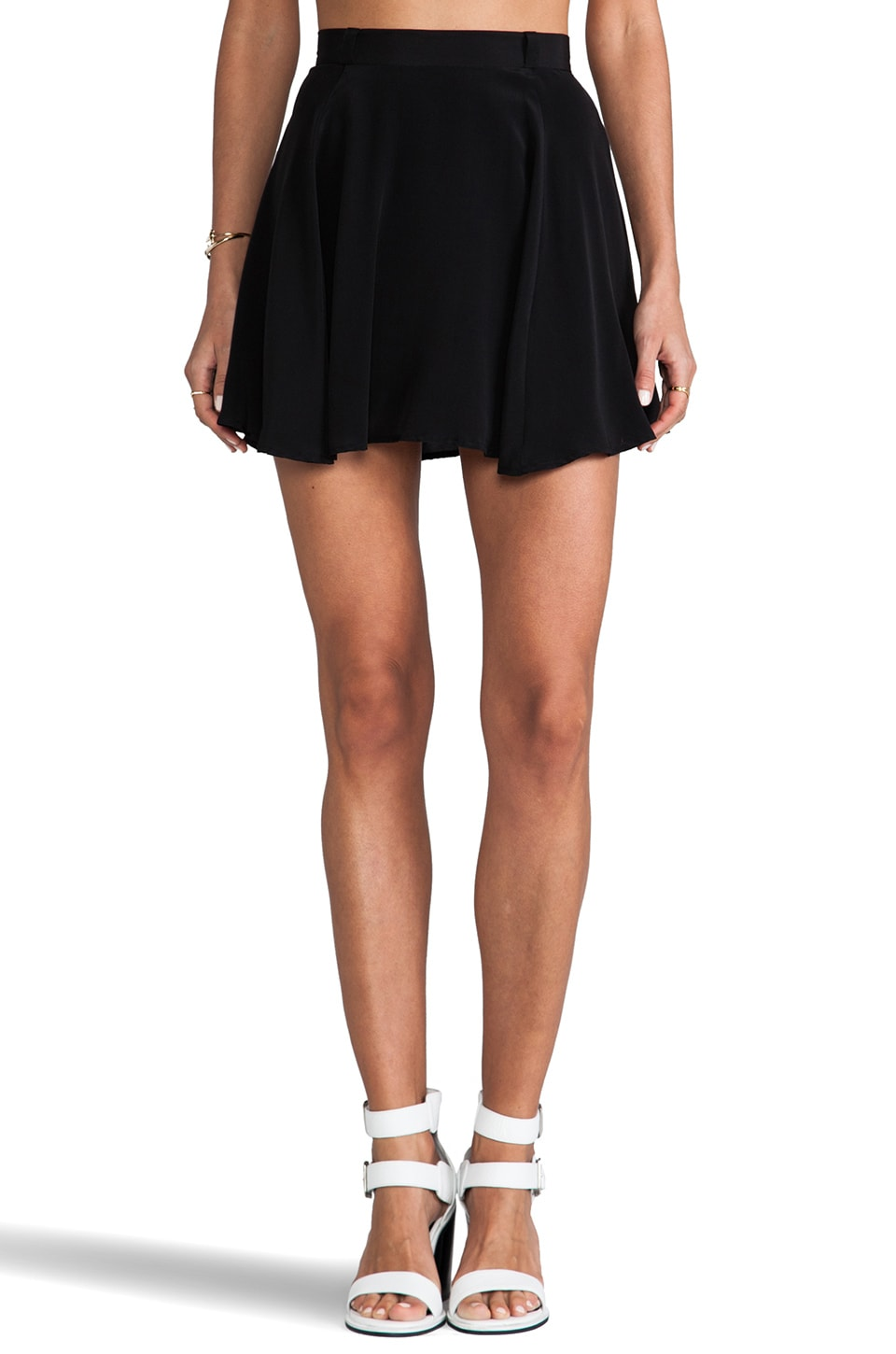 Yumi Kim Cara Skirt in Black