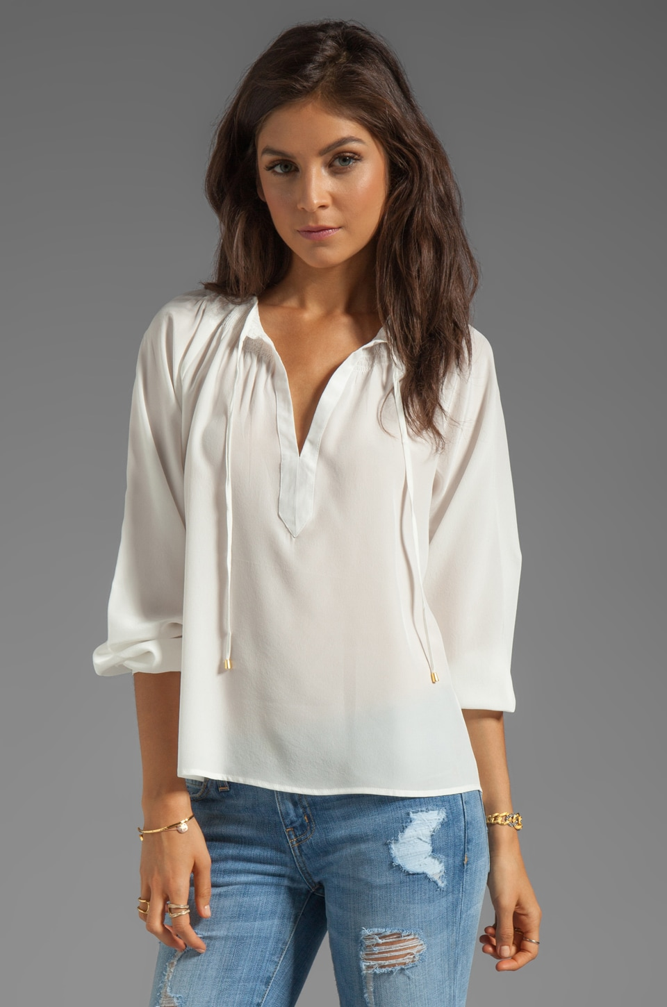 Yumi Kim Sydney Top in White