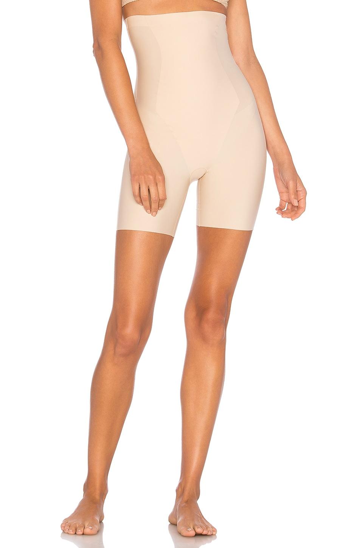 Yummie Hidden Curves High Waist Thigh Shaper in Frappe