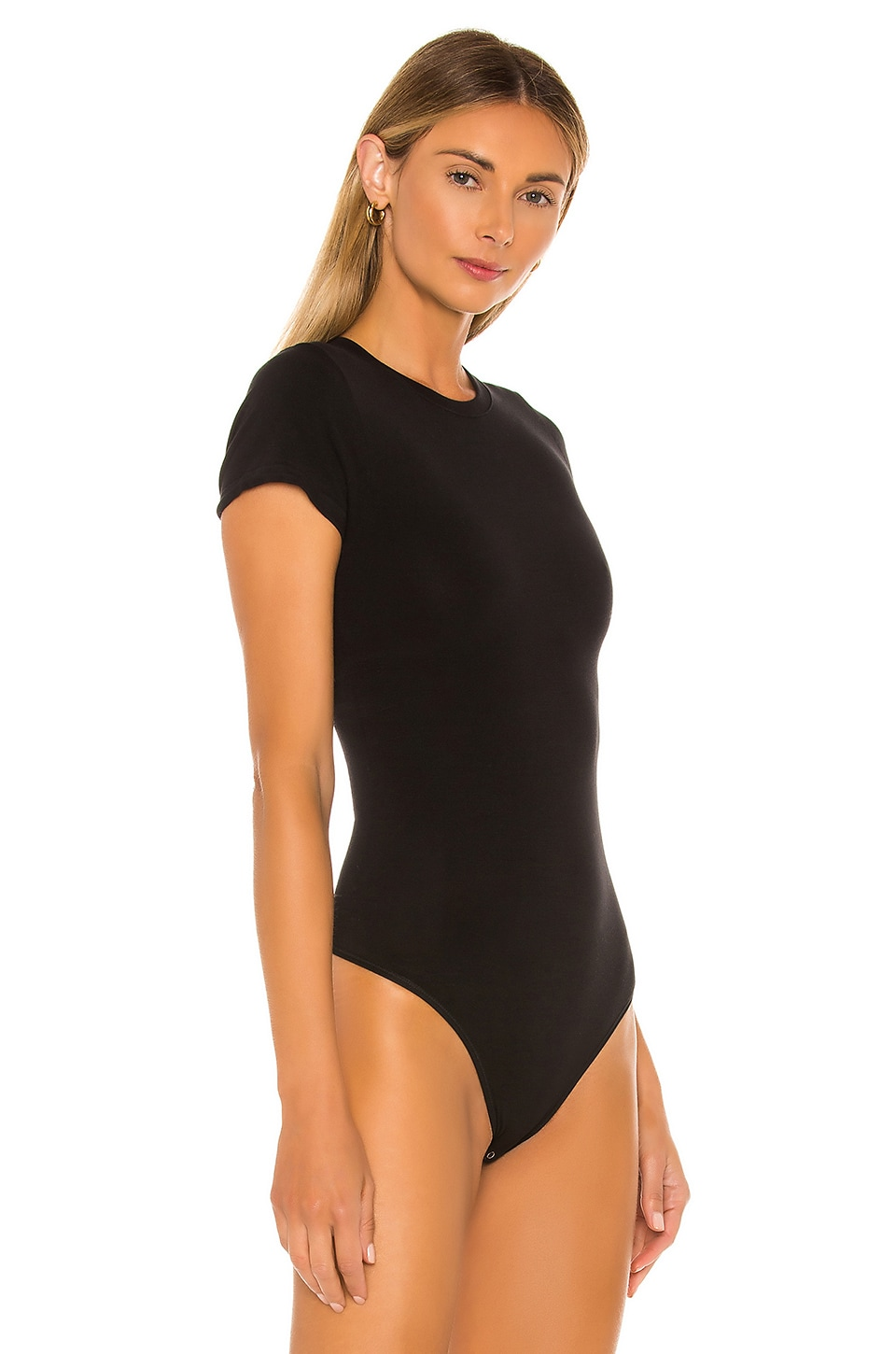 Short Sleeve Bodysuit, view 3, click to view large image.