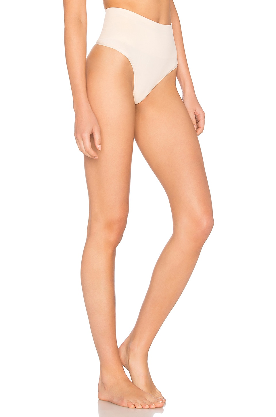 Yummie by Heather Thomson Jasmina Shaping Thong in Nude
