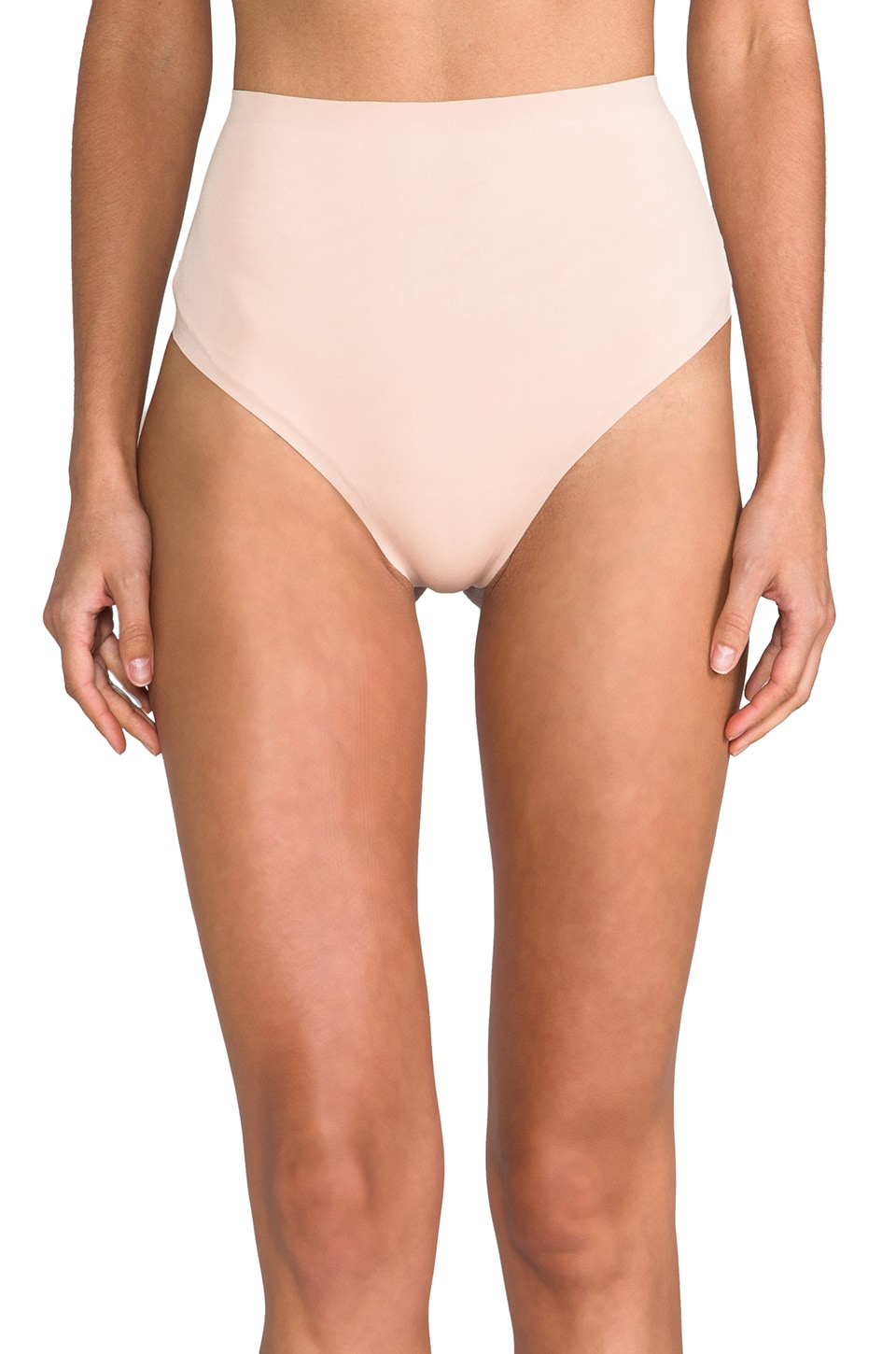Yummie by Heather Thomson Jeannie Bonded Thong in Nude