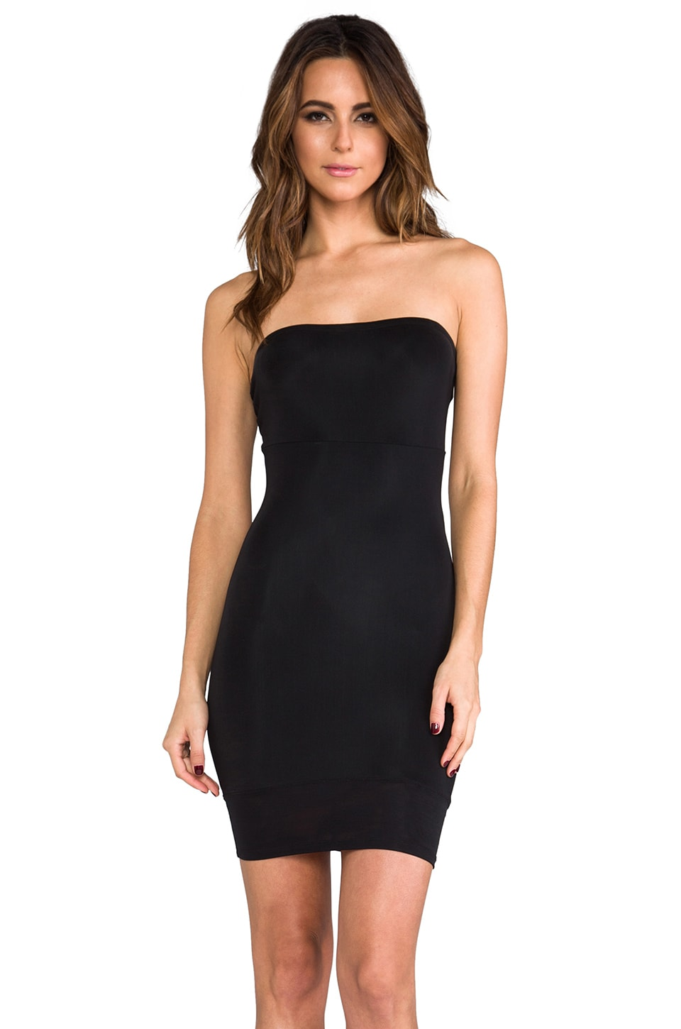 Yummie by Heather Thomson Robin Strapless Slip in Black