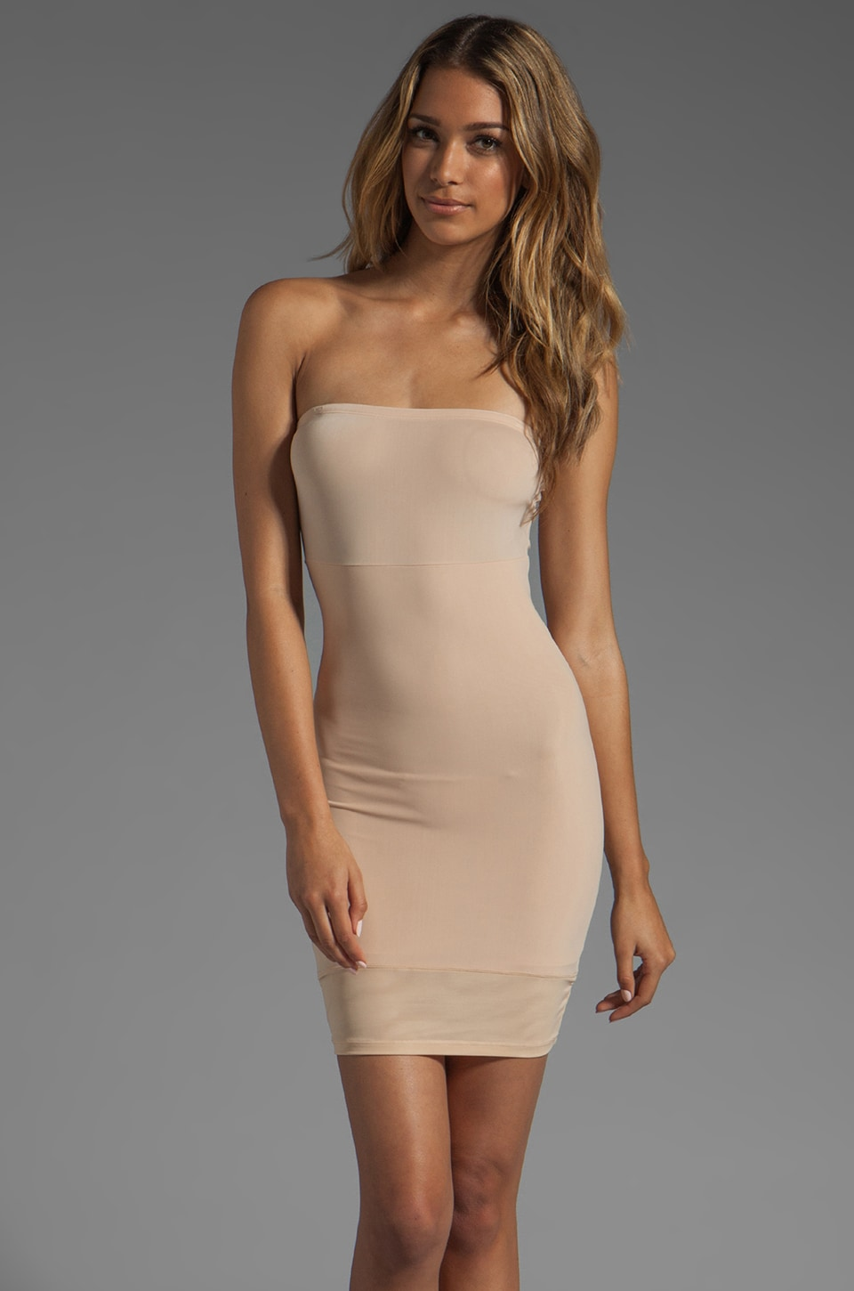 Yummie by Heather Thomson Robin Strapless Slip in Nude