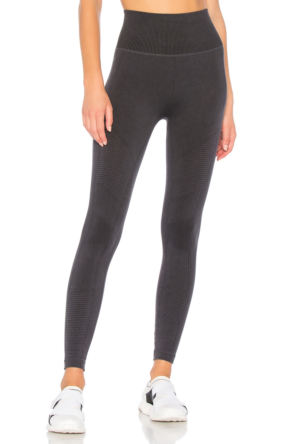 Yummie Seamless Moto Legging in Black