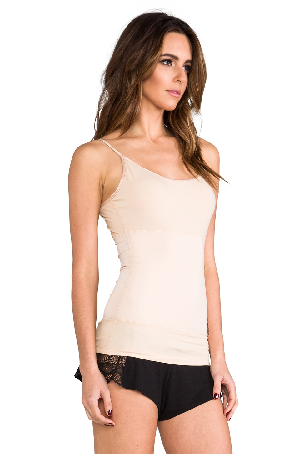 Yummie by Heather Thomson Strappy Tank in Nude