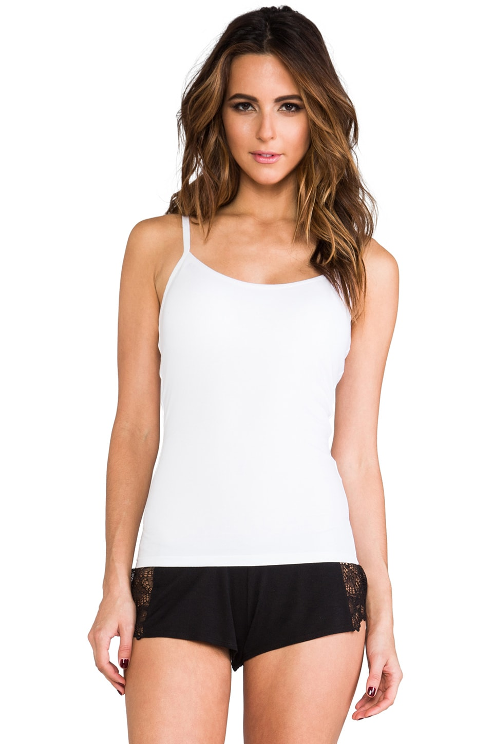 Yummie by Heather Thomson Regean Convertible Tank in White