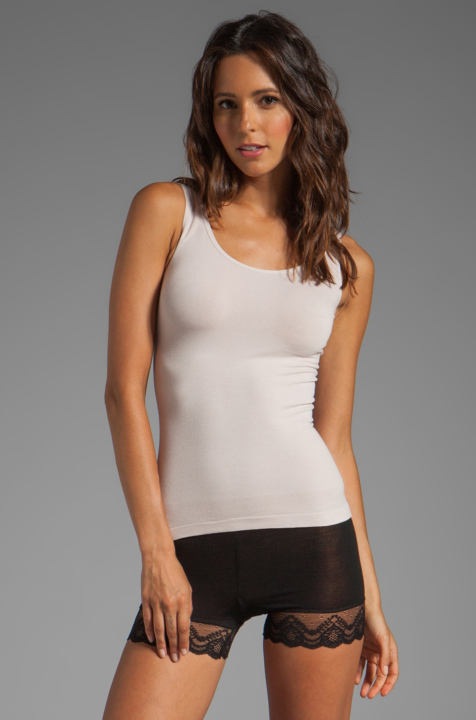 Yummie by Heather Thomson Stephanie 2-Way Tank in Hush