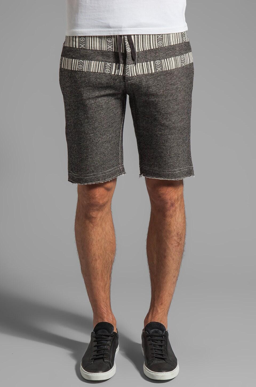 Z.A.K. Shorts in Grey/Black Aztec