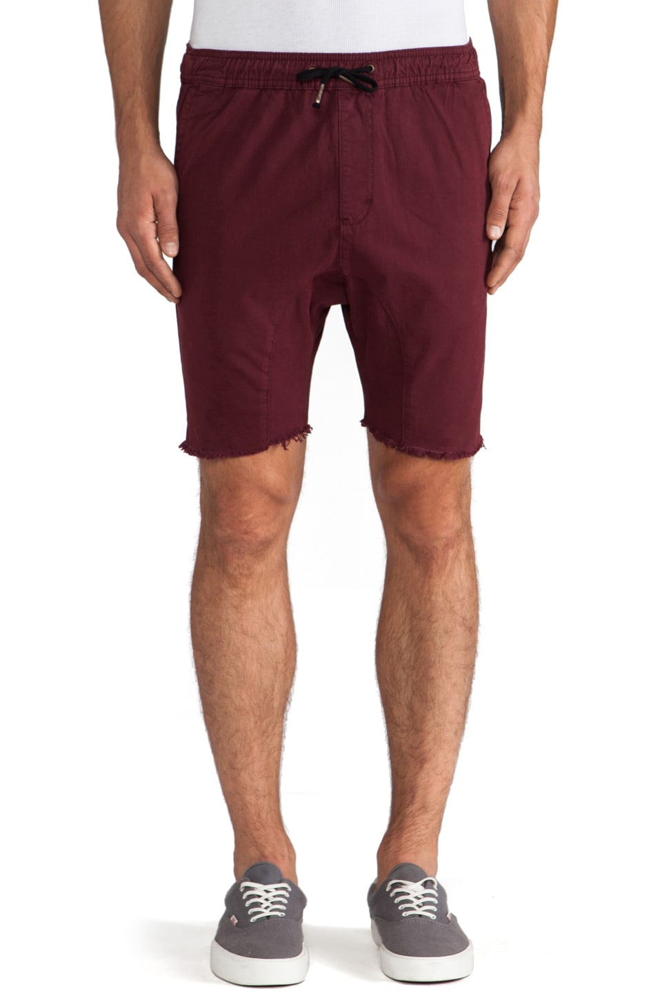 Zanerobe Sureshot Short in Burgundy