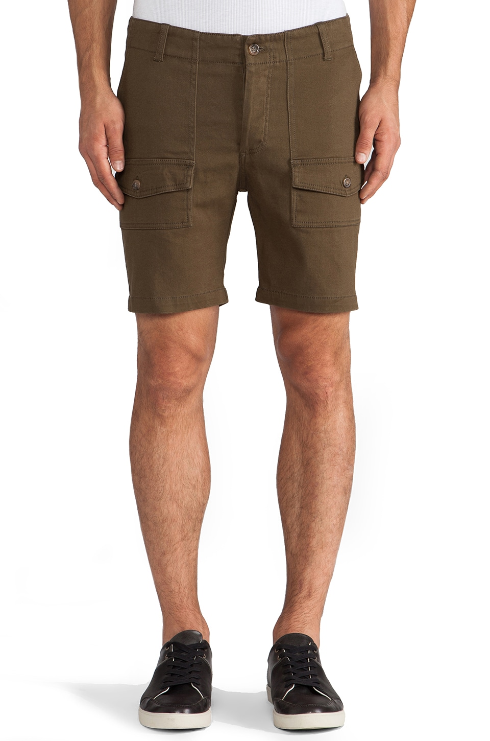 Zanerobe Scarab Short in Military Green