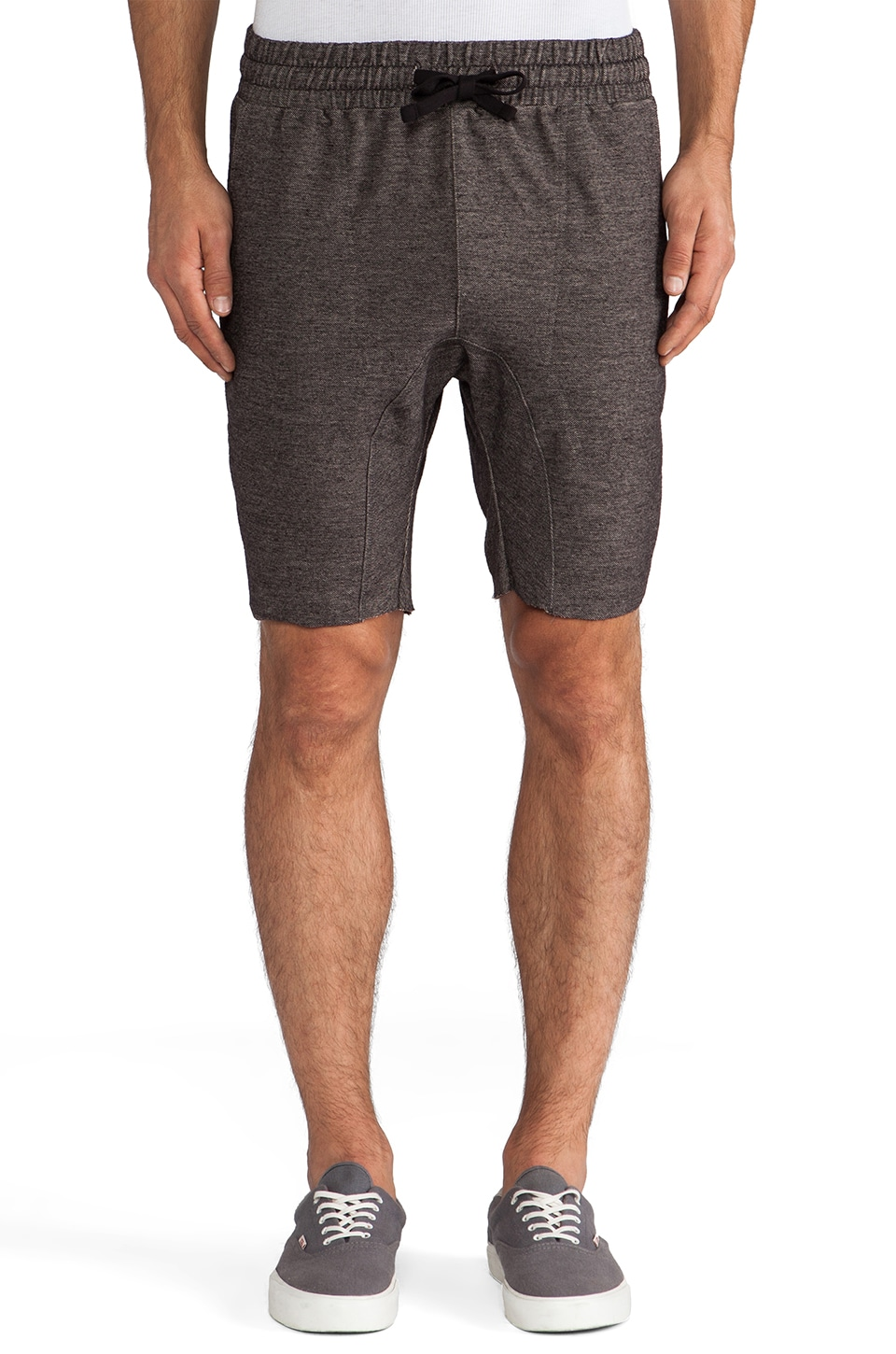 Zanerobe Slapshot Short in Black Marle