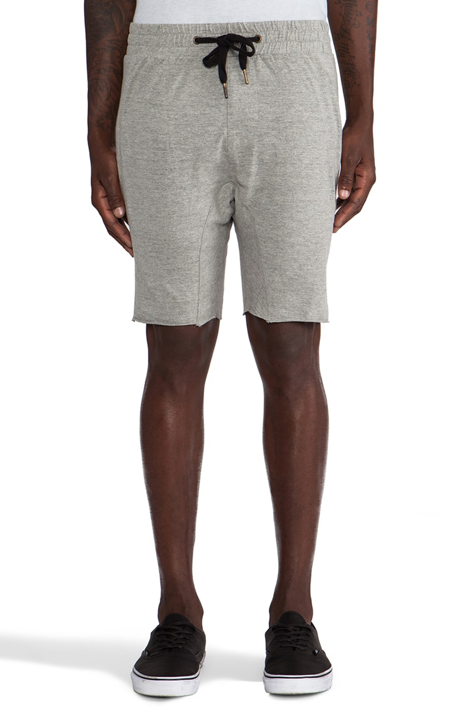 Zanerobe Das Buro Short in Light Grey Marle