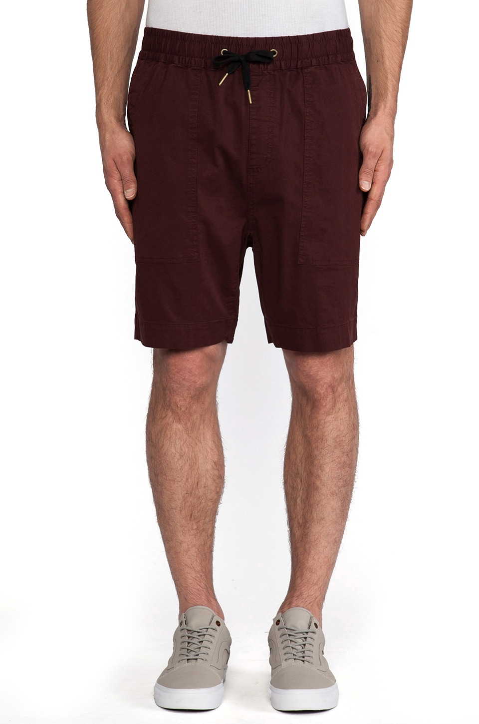 Zanerobe Gabe Short in Burgundy