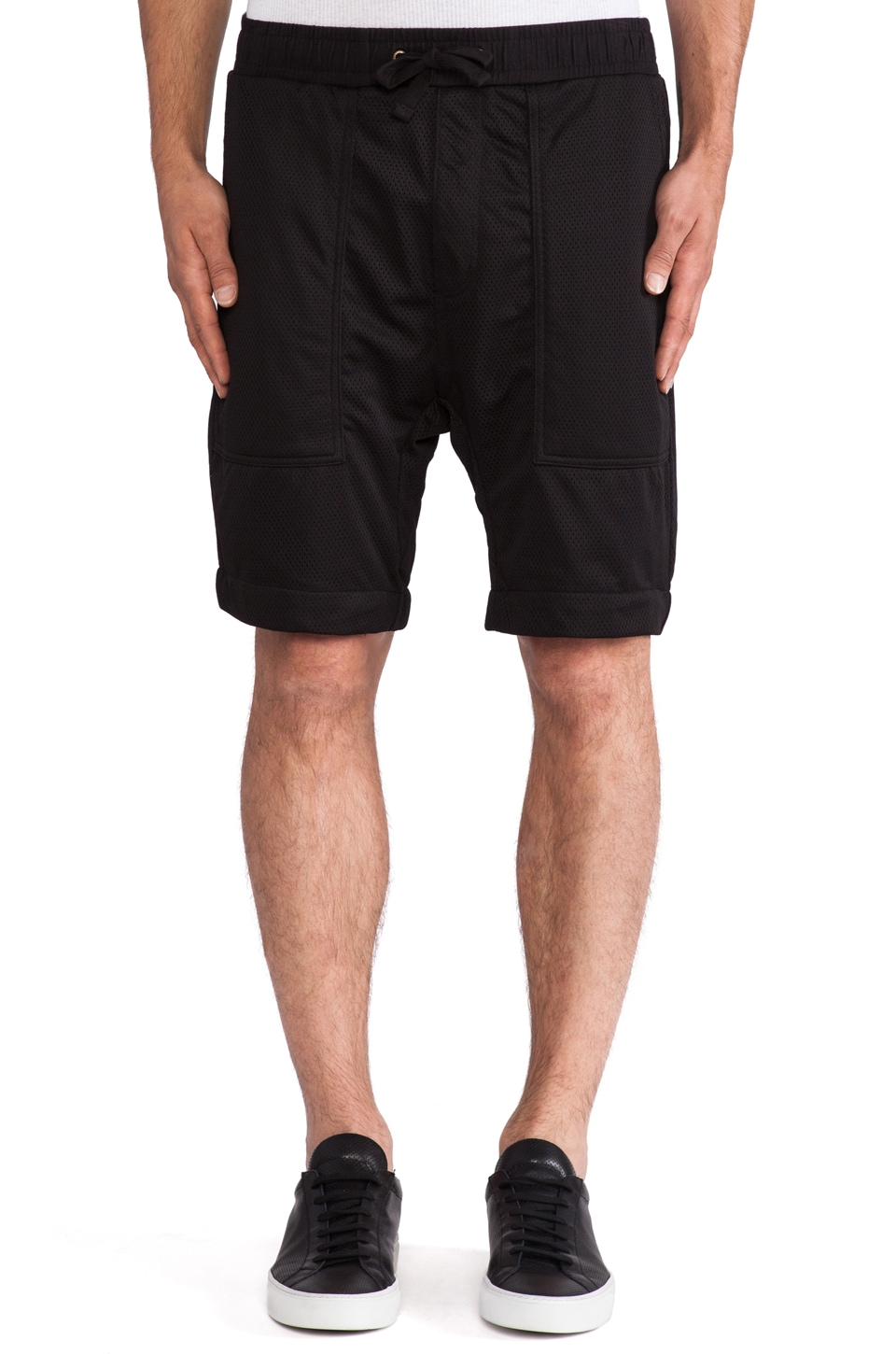 Zanerobe Gabe Short in Black Mesh