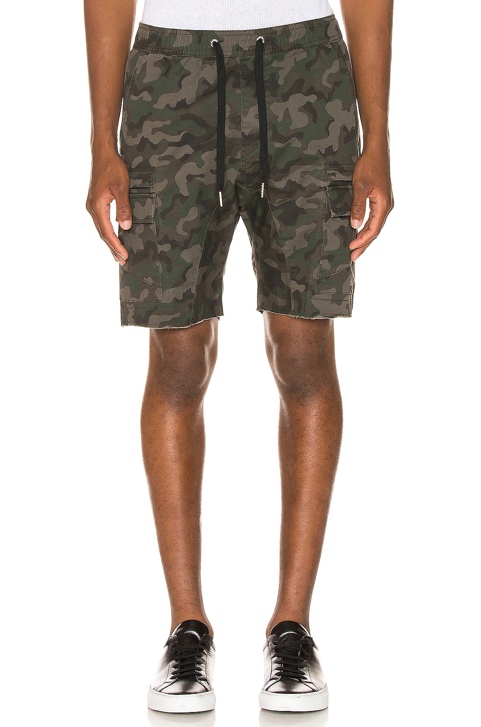 Zanerobe Sureshot Lite Cargo Short in Dark Camo