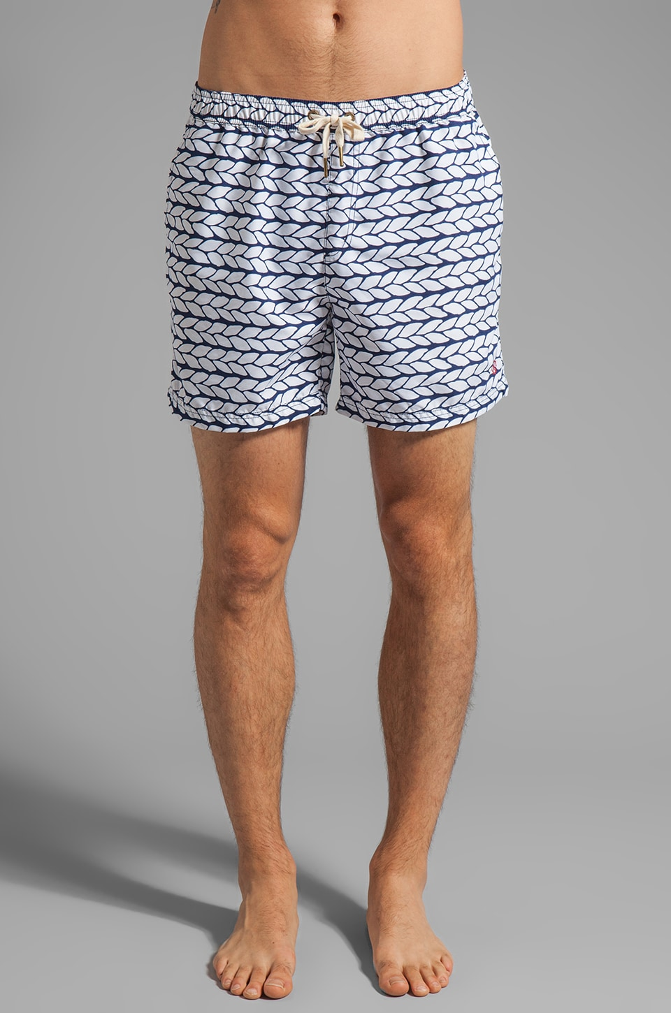 Zanerobe Roped Swim Short in Navy