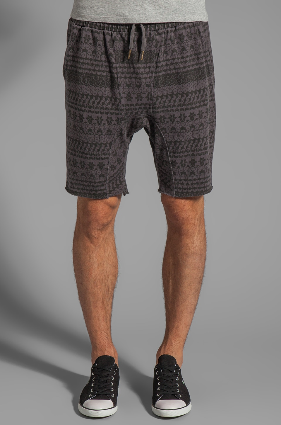 Zanerobe Das Buro Short in Charcoal