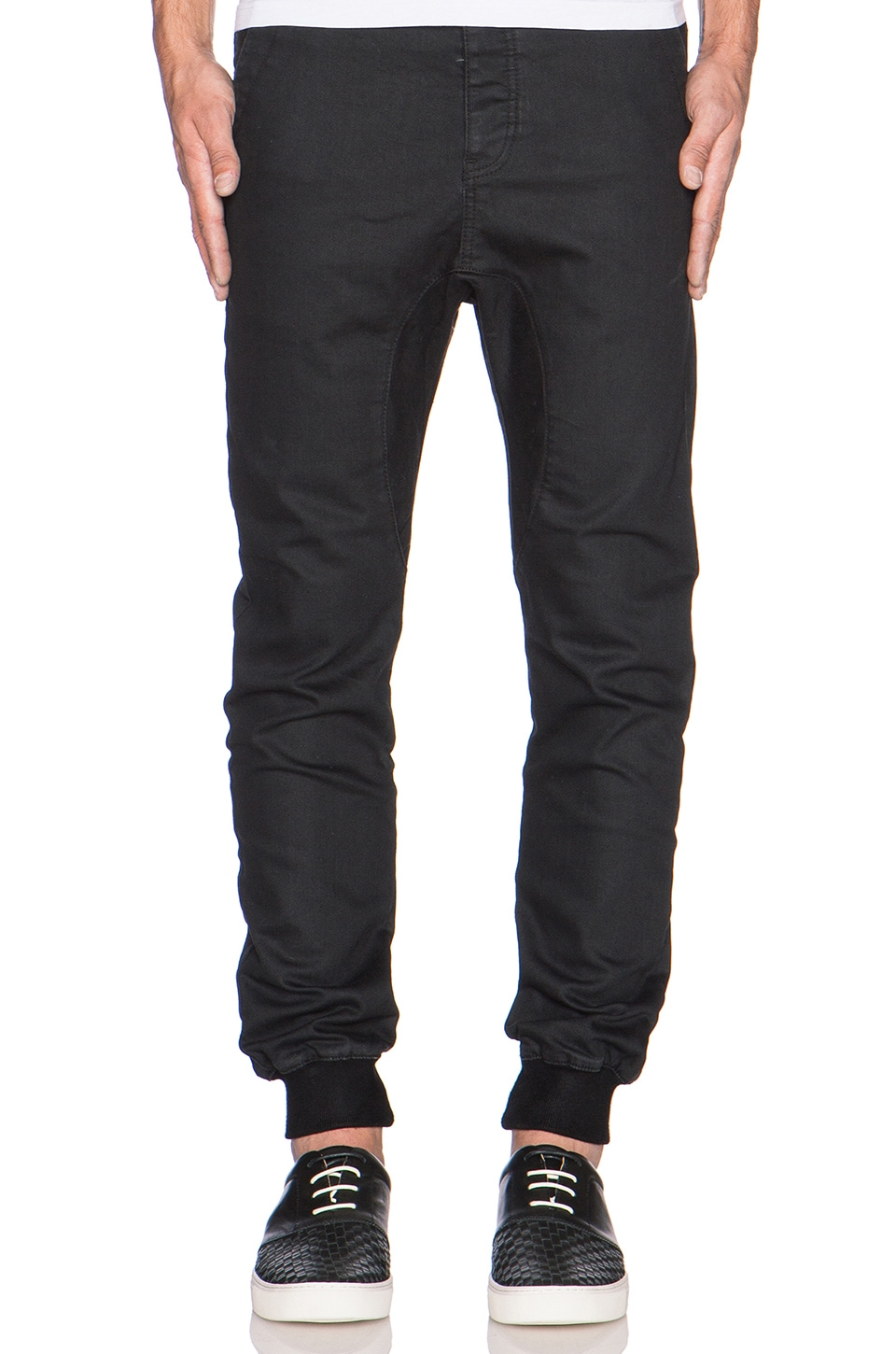 Zanerobe Dynamo Denim in Black Coated