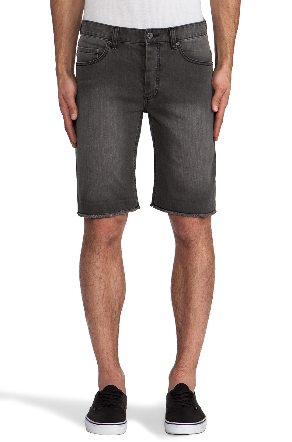 Zanerobe Piston Jean Short in Bourbon Black