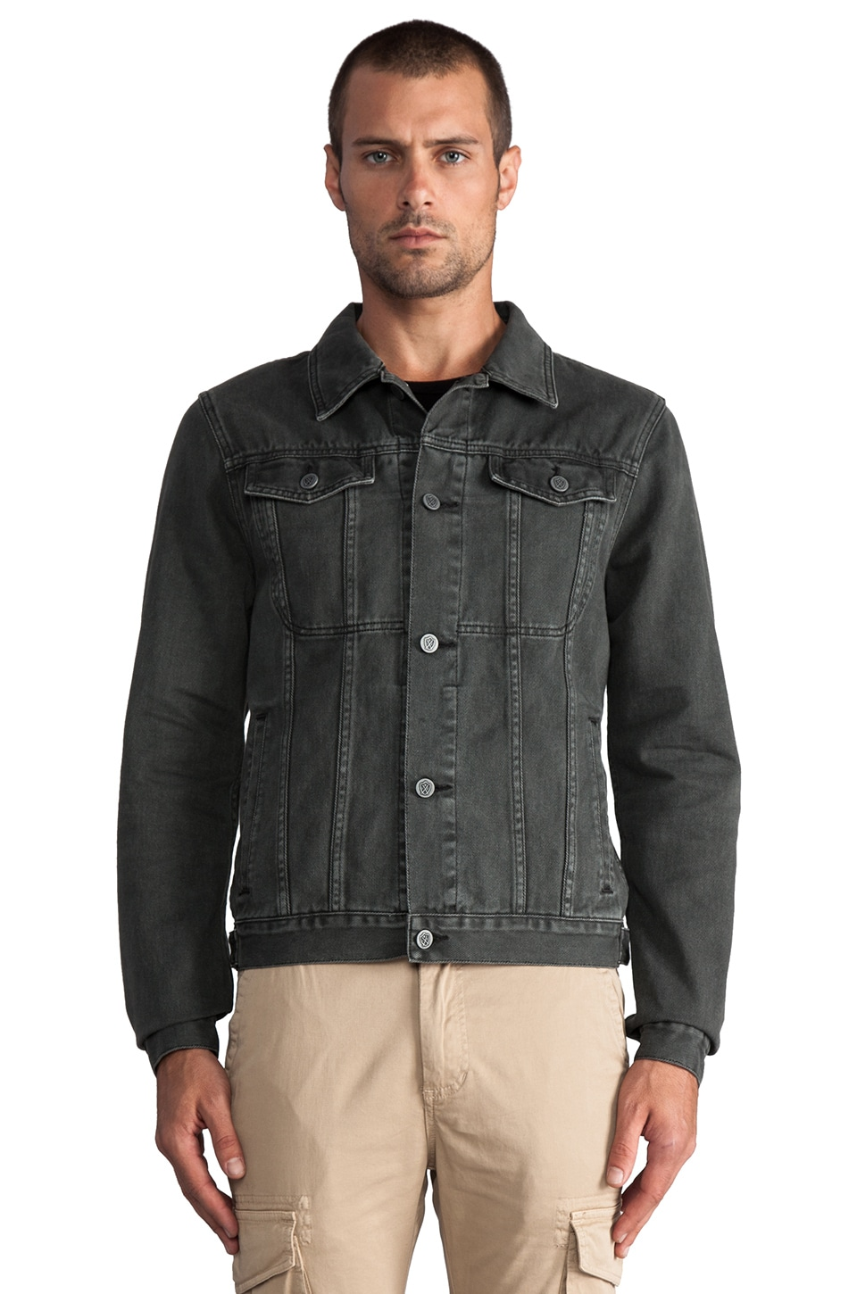 Zanerobe DiMarco Jacket in Washed Black