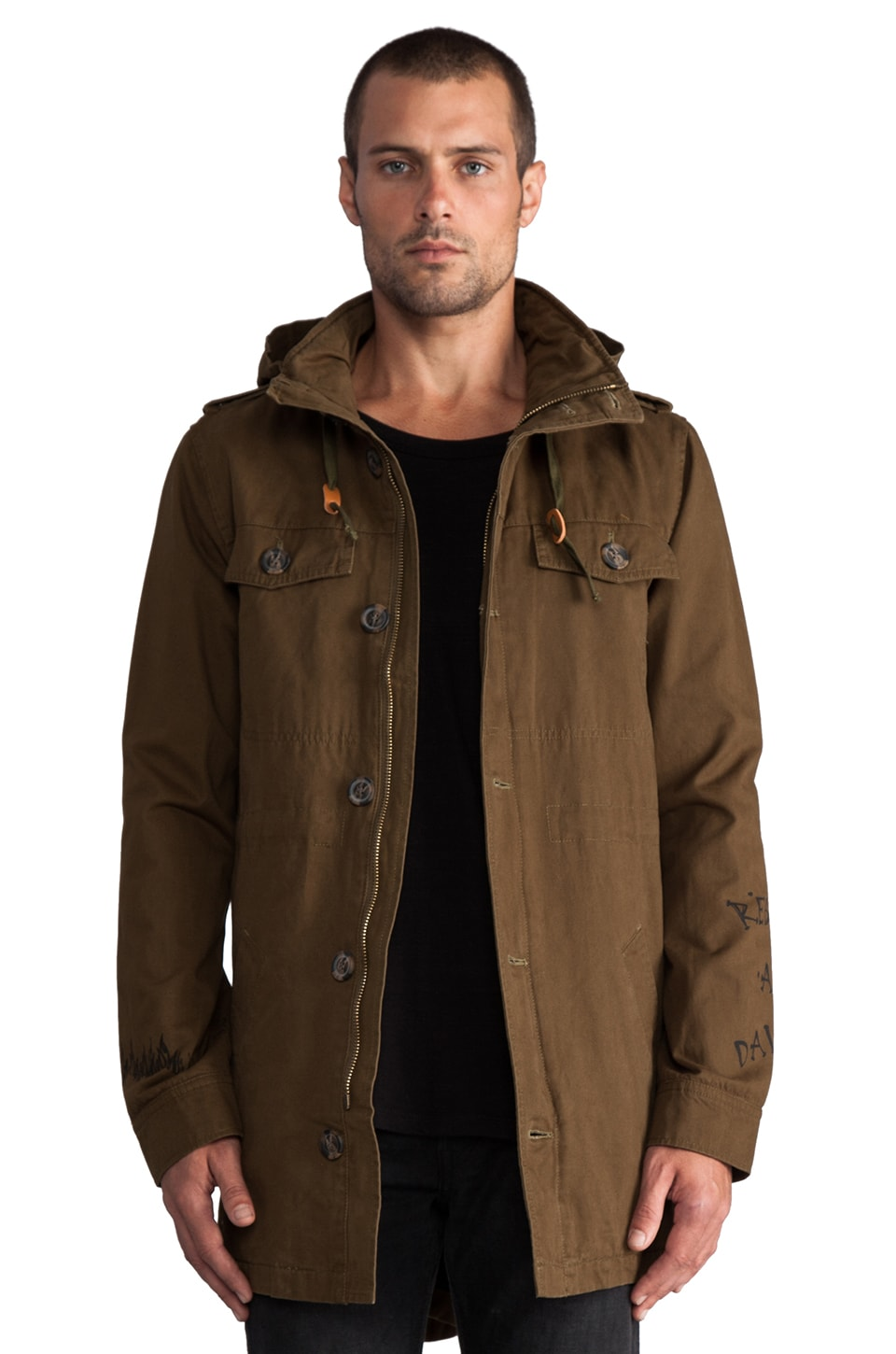 Zanerobe Detention Jacket in Olive