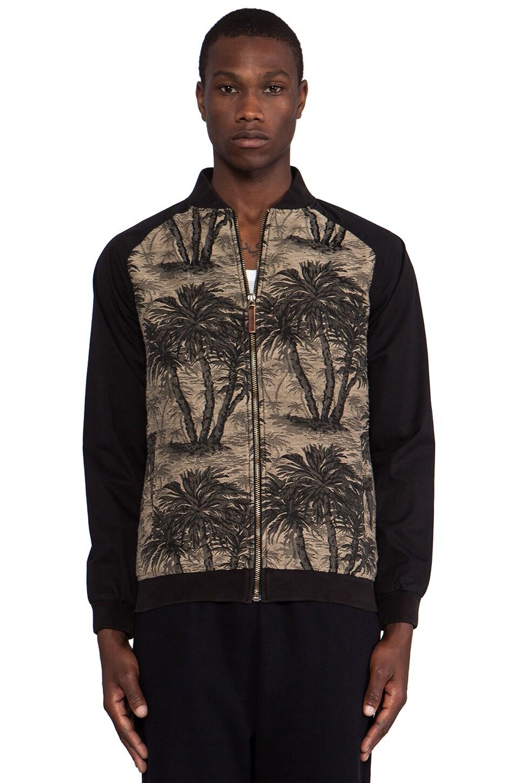 Zanerobe Kapu Bomber in Palm Camo