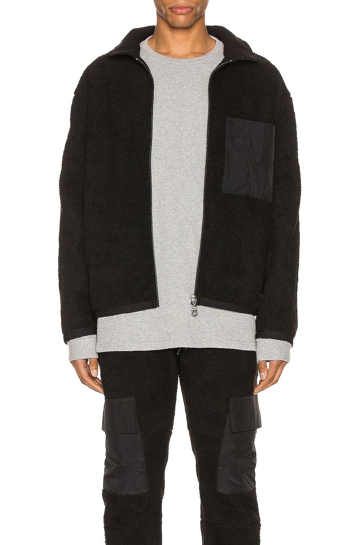 Zanerobe Sherpa Liner Jacket in Black