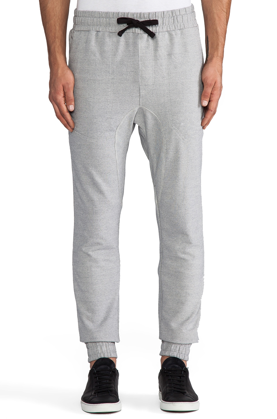 Zanerobe Slapshot Pant in Light Grey Marle