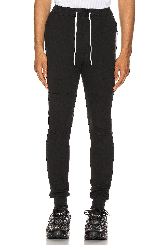 Zanerobe Sureshot Fleece Jogger in Black