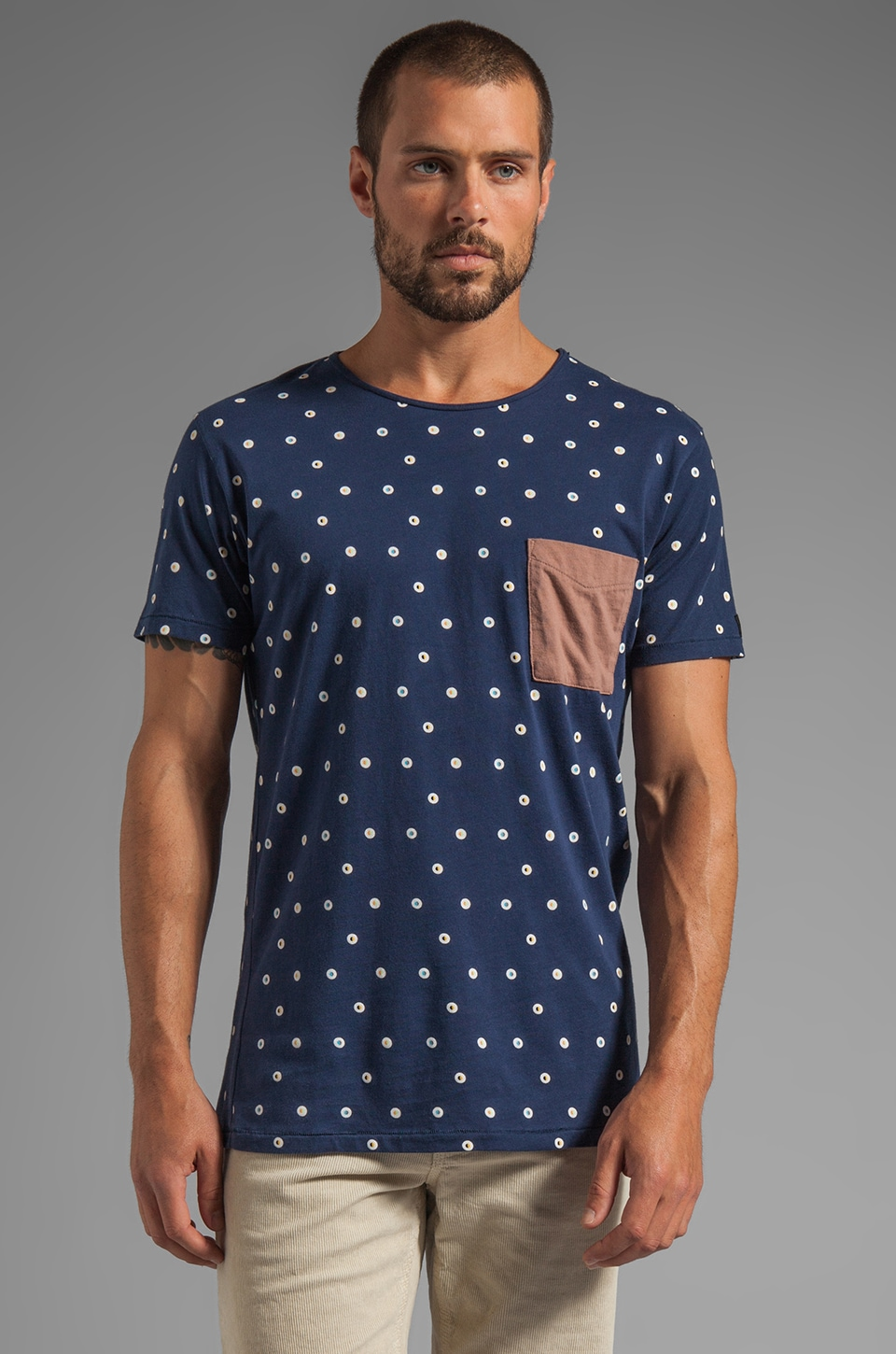 Zanerobe Dandy Tee in Navy
