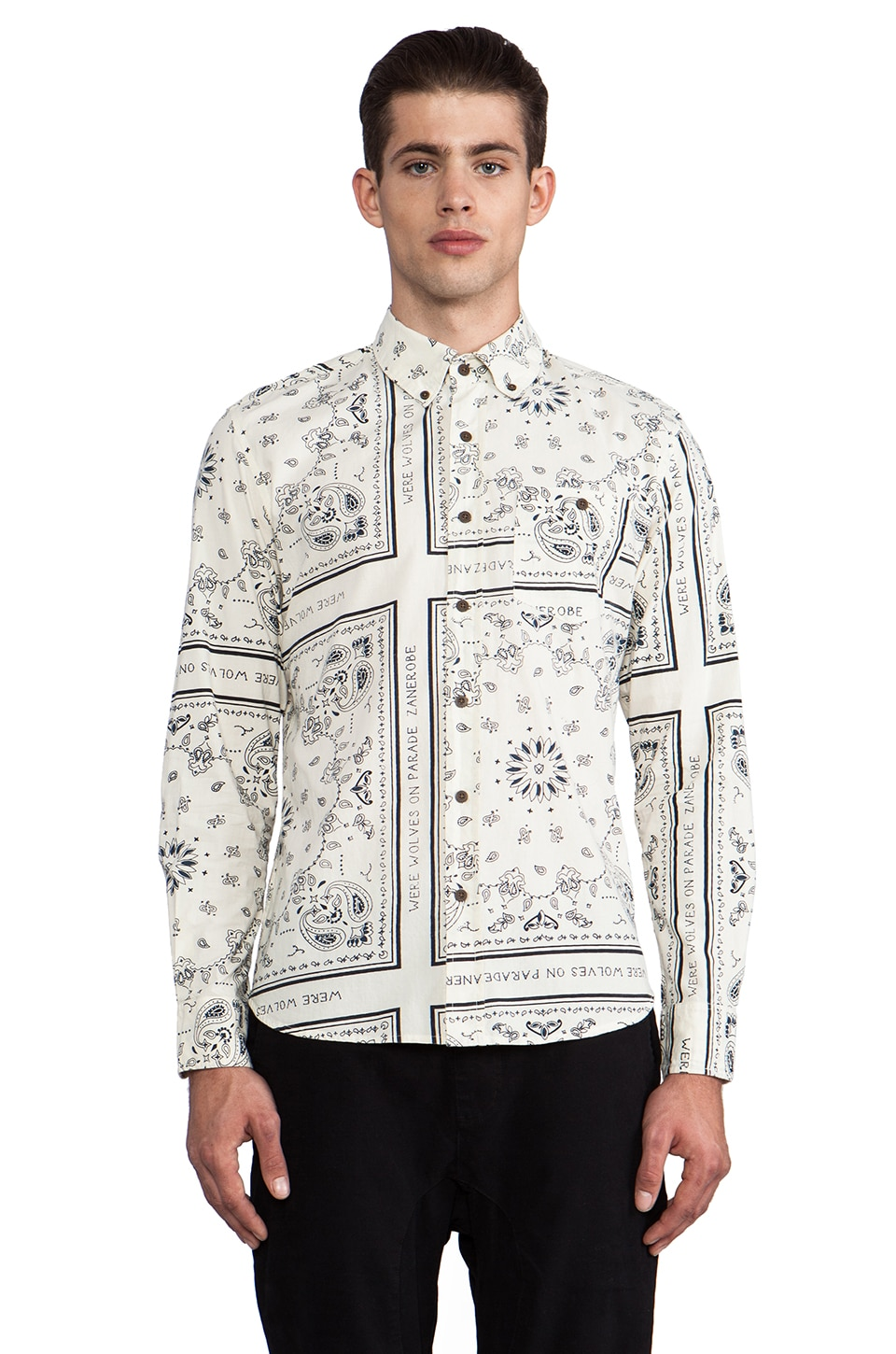 Zanerobe Frames Button Down in White