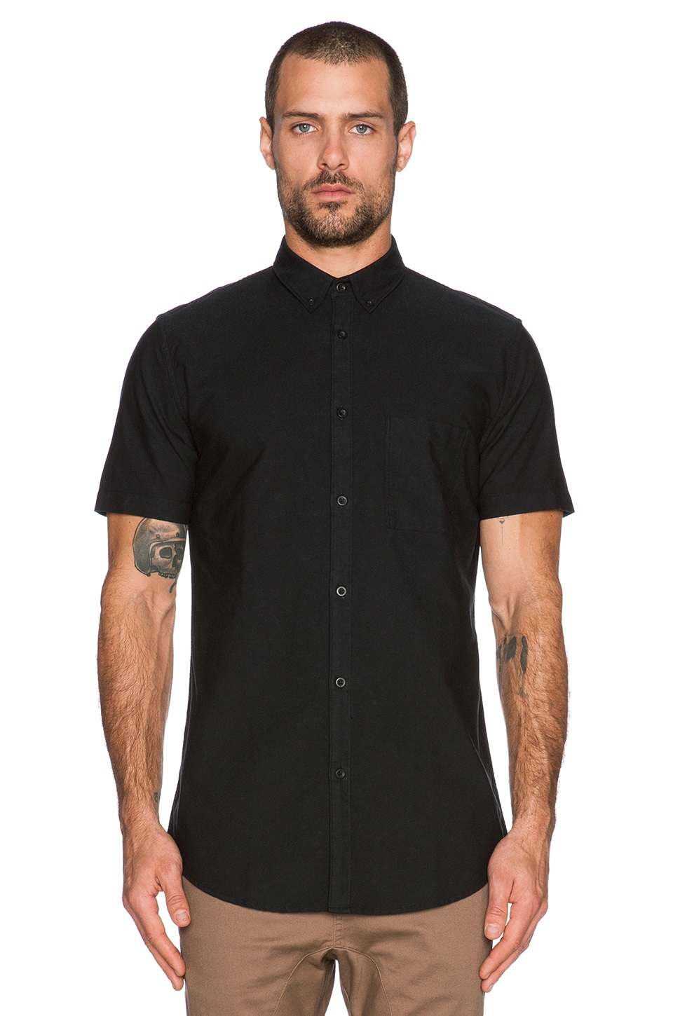 Zanerobe Seven Foot Shirt in Black