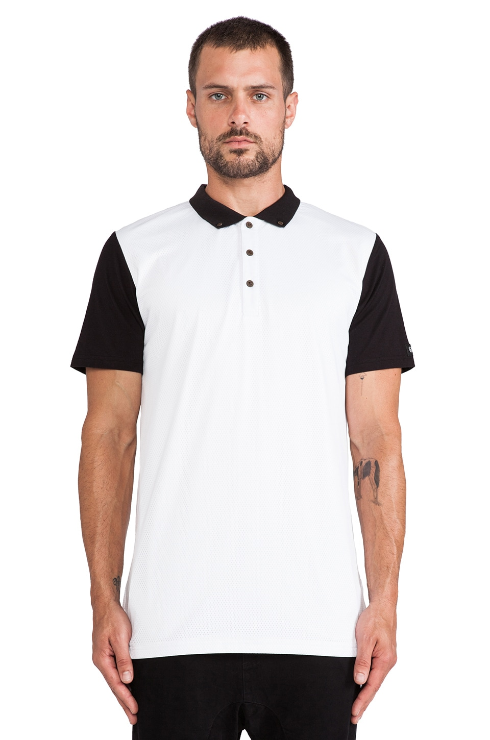 Zanerobe Disphaute Polo in White