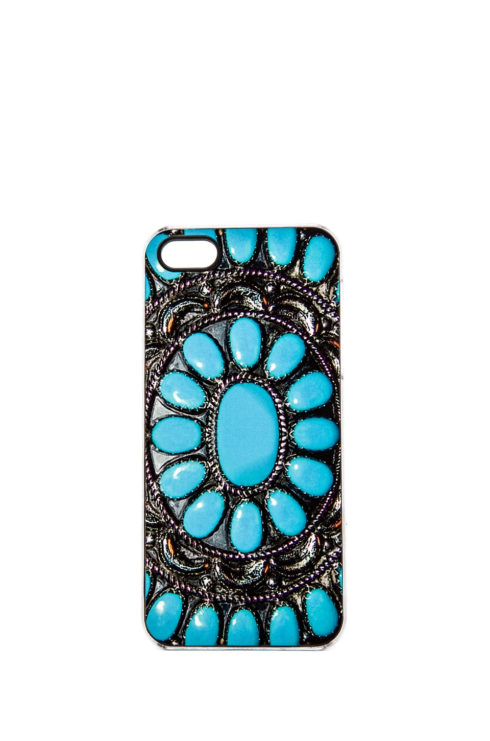 ZERO GRAVITY Desert Gem iPhone 5 Case in Turquoise