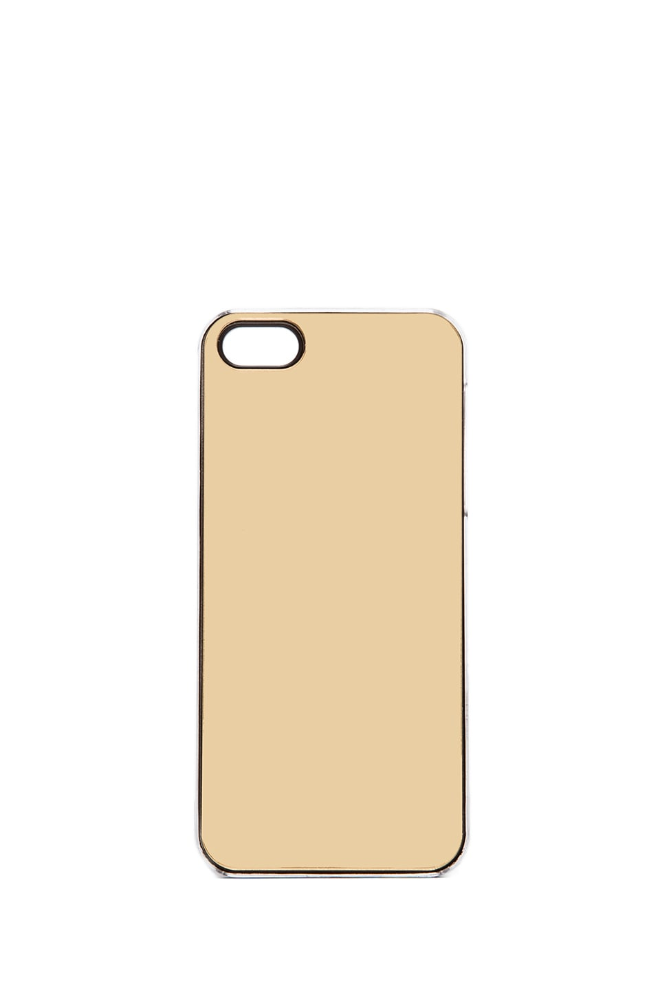 ZERO GRAVITY Mirror iPhone 5 Case in Gold