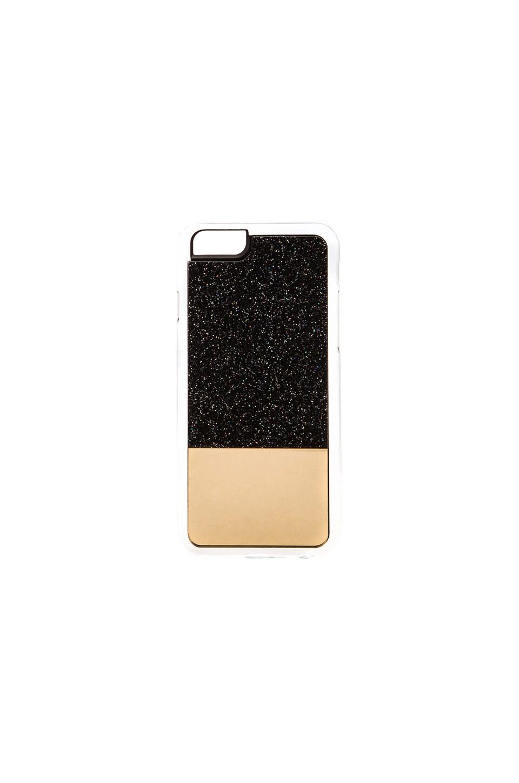 ZERO GRAVITY Star Gazer iPhone 6 Case in Black & Gold