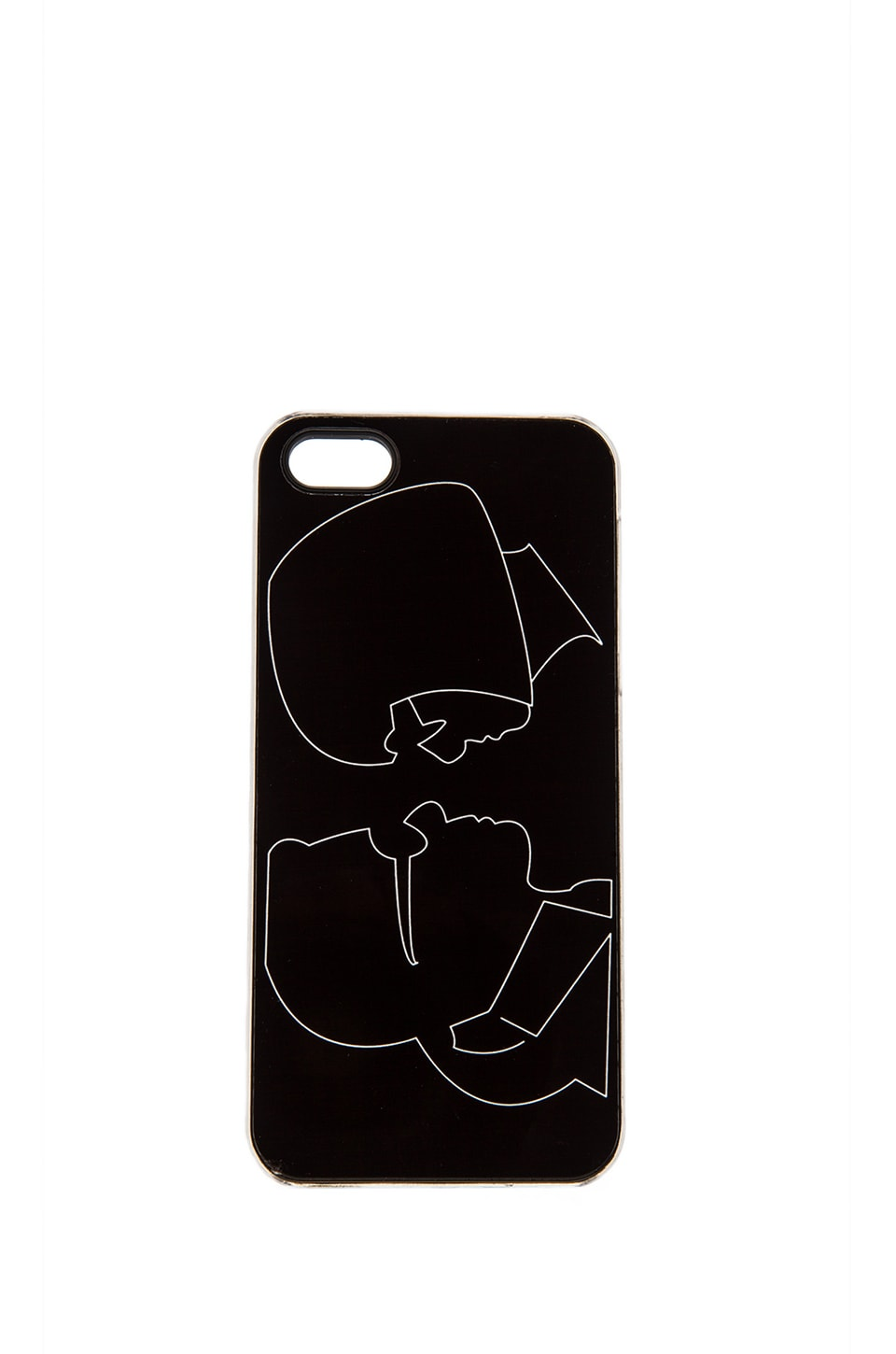 ZERO GRAVITY Besties iPhone 5 Case in Black