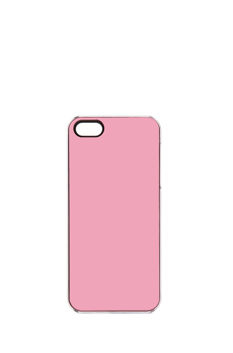 ZERO GRAVITY Mirror iPhone 5 Case in Pink