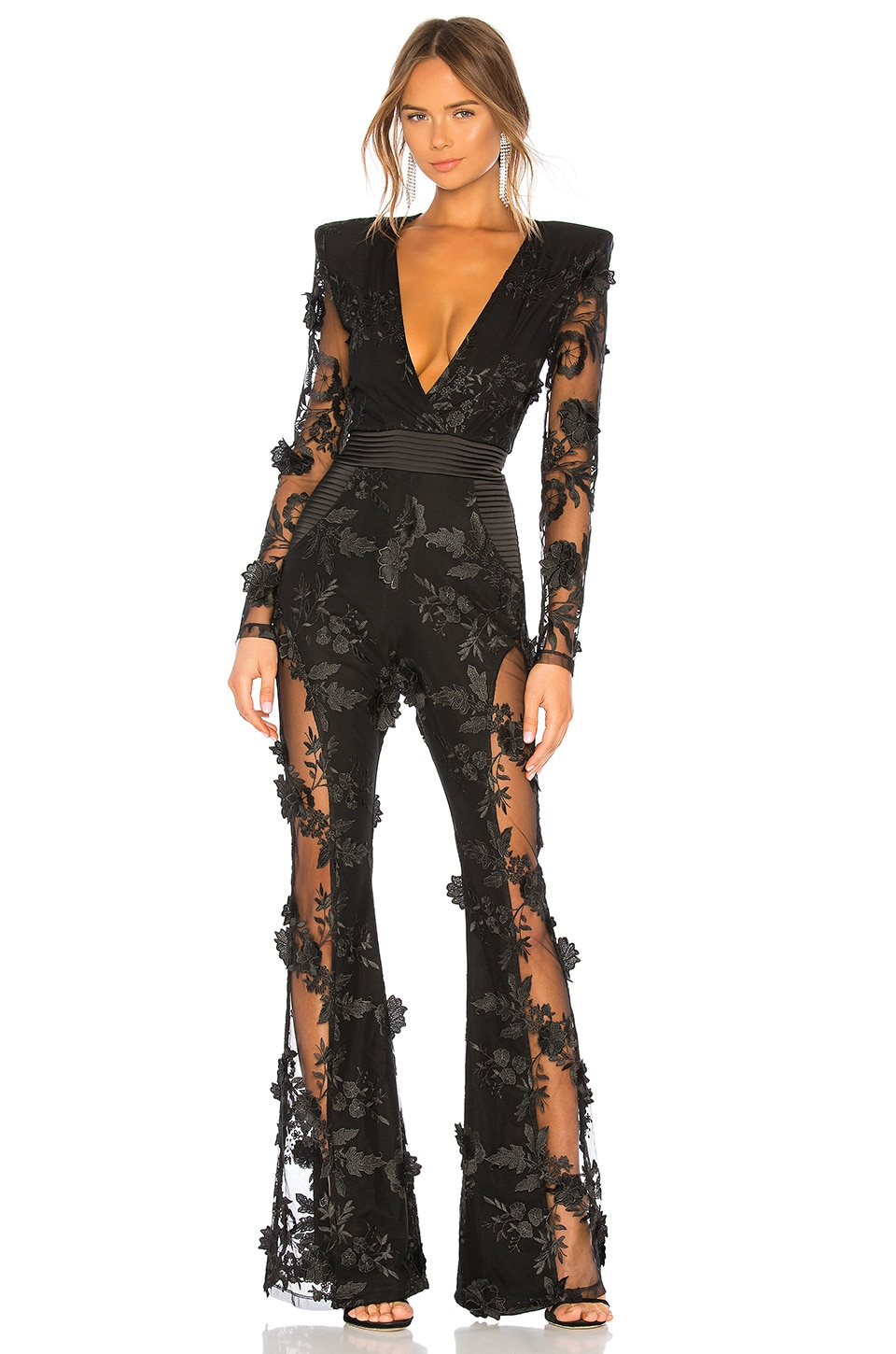 Zhivago Where You Tend A Rose Jumpsuit in Black