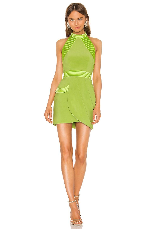 Zhivago Algeny Mini Dress in Lime