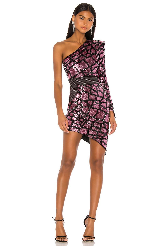 Zhivago Karijini Mini Dress in Magenta