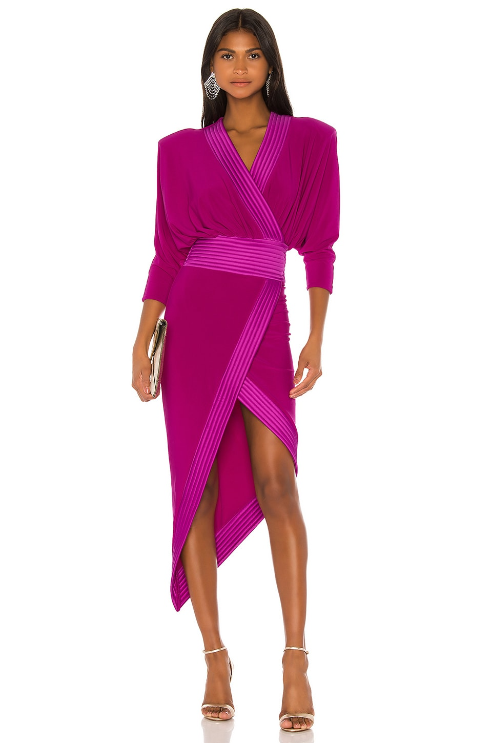 Zhivago Weld Dress in Magenta