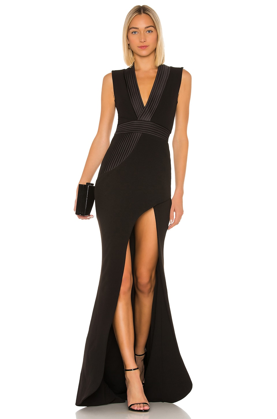Zhivago Nullarbor Gown in Black