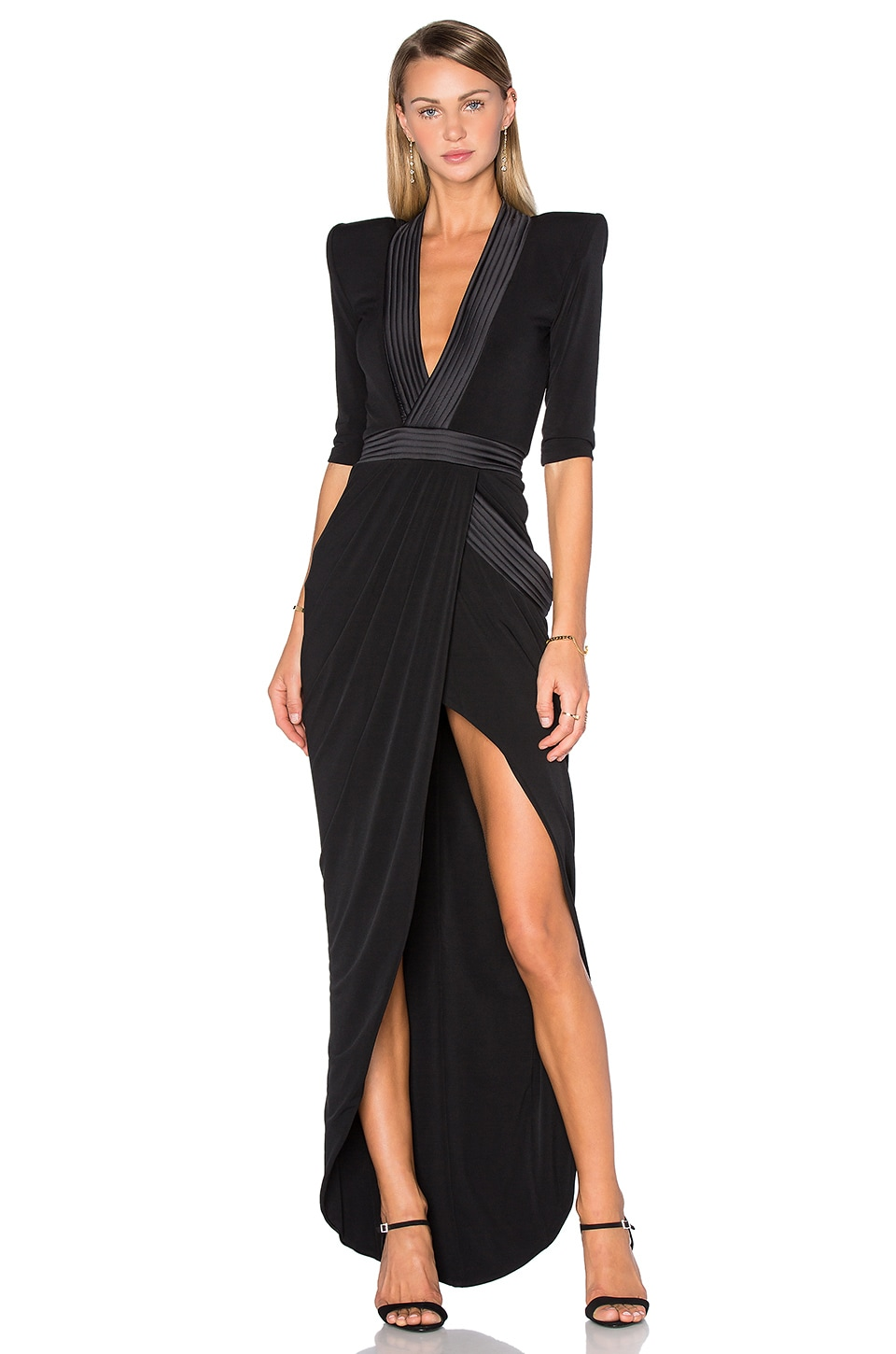 Zhivago Eye Of Horus Gown in Black