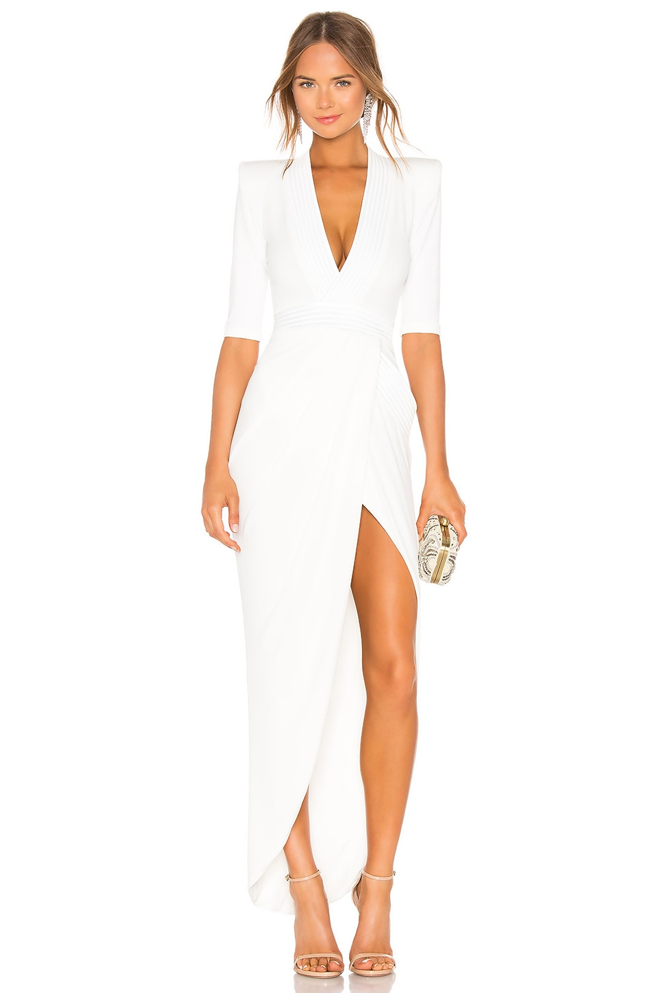 Zhivago Eye of Horus Gown in White