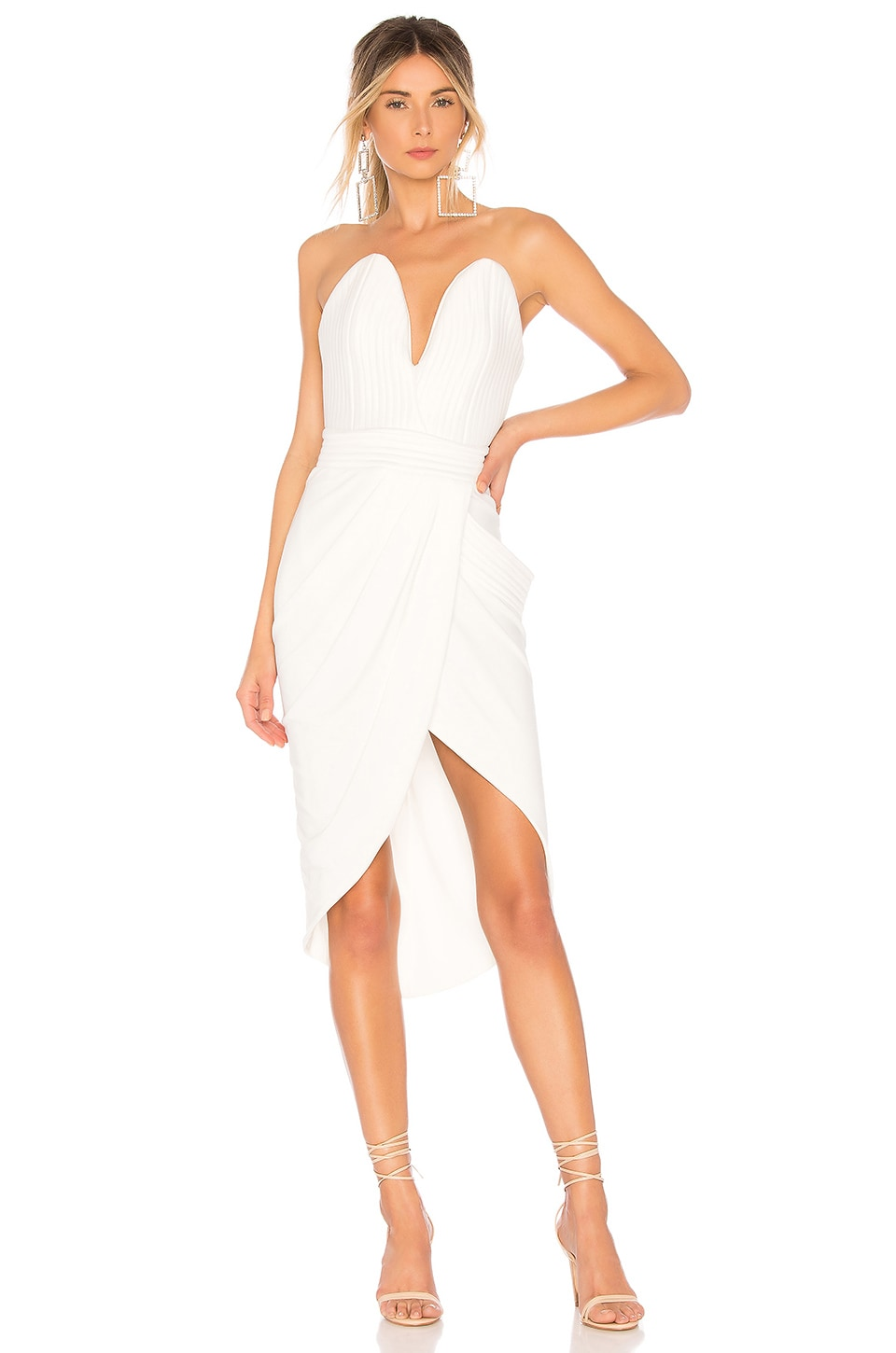 Zhivago Mad World Dress in White