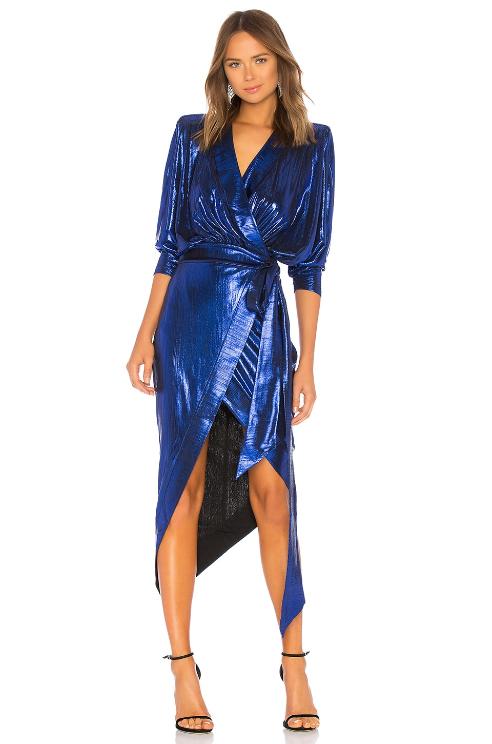Zhivago Picture This Dress in Blue