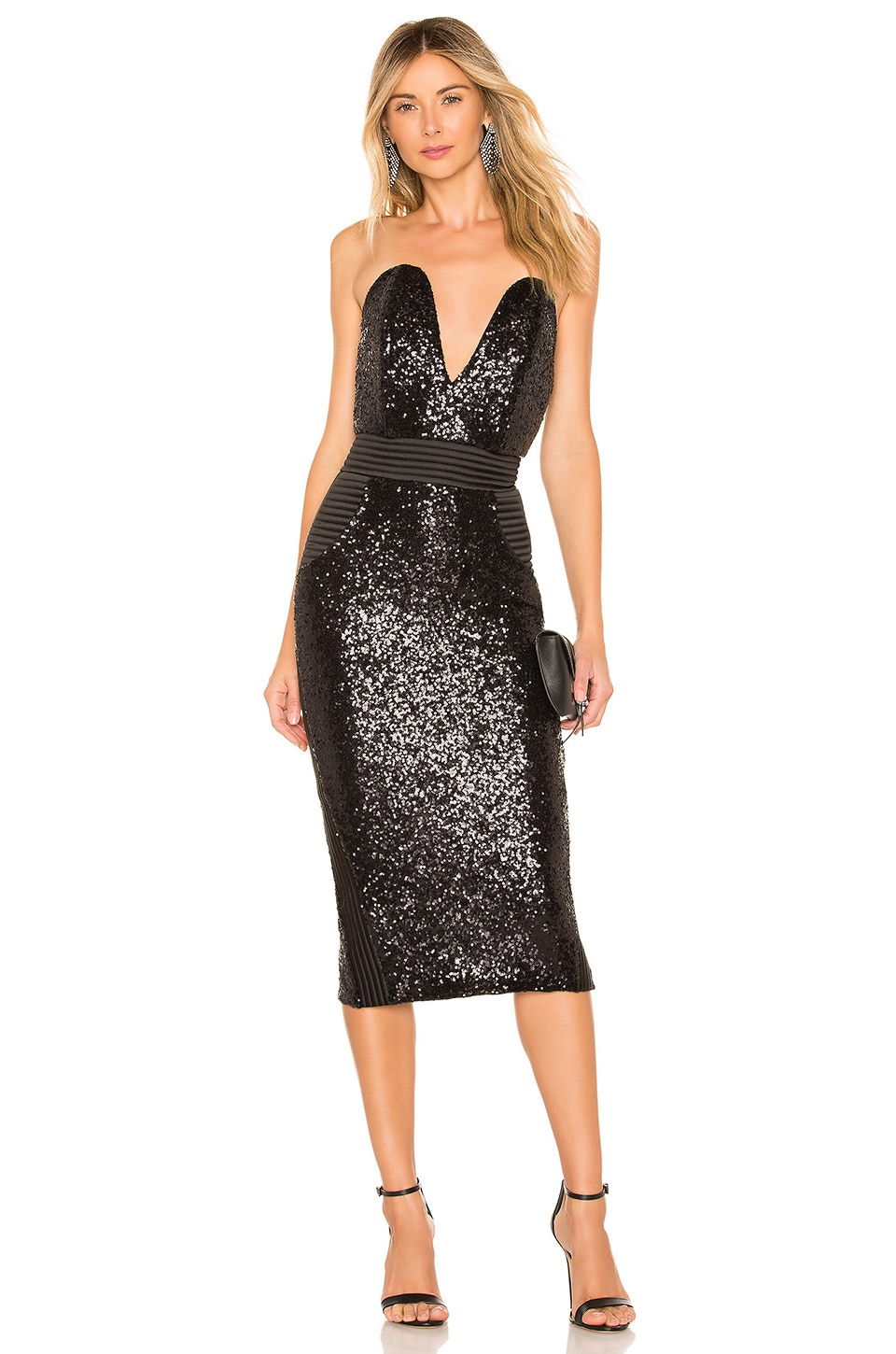Zhivago Eat To The Beat Dress in Black